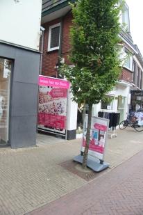 De ingang aan de Langstraat
